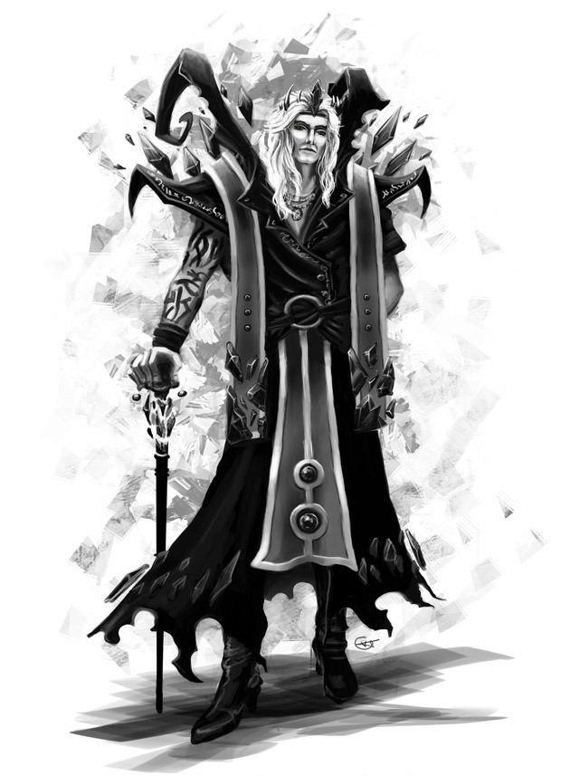 Concept art of a Source wizard