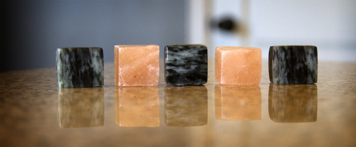 Arctic Rocks Cube Examples