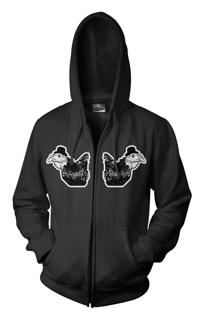 the front of the turkey hoodie!!!