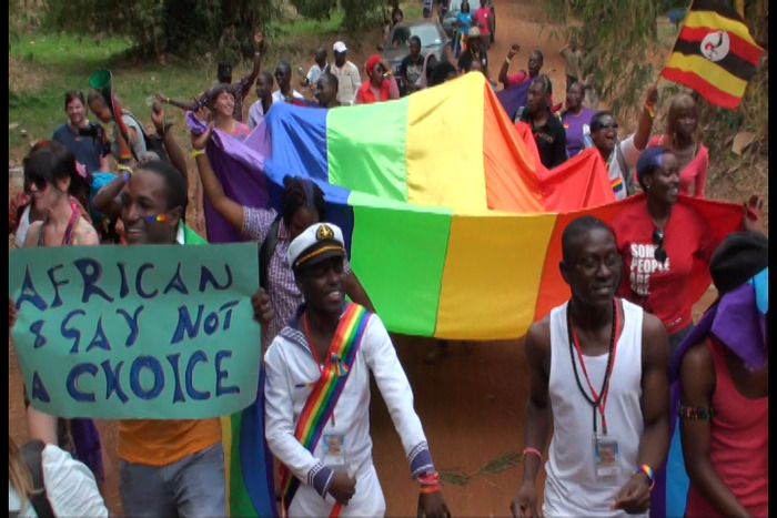 The First Ugandan/East African Gay Pride Event