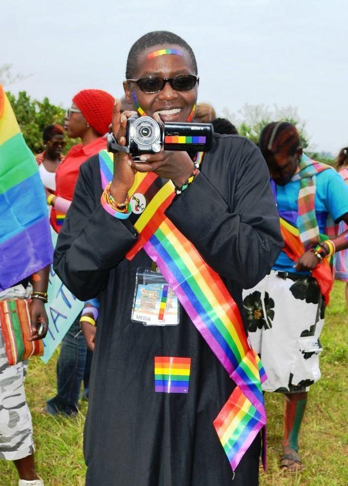 Pepe @ the First Ugandan/East African Gay Pride!