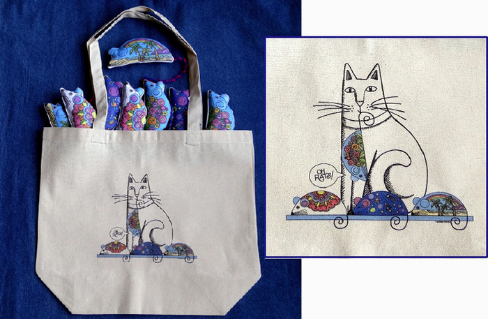 (At the $75 pledge level you will find 8 Snazzy Rats tucked into your tote bag)