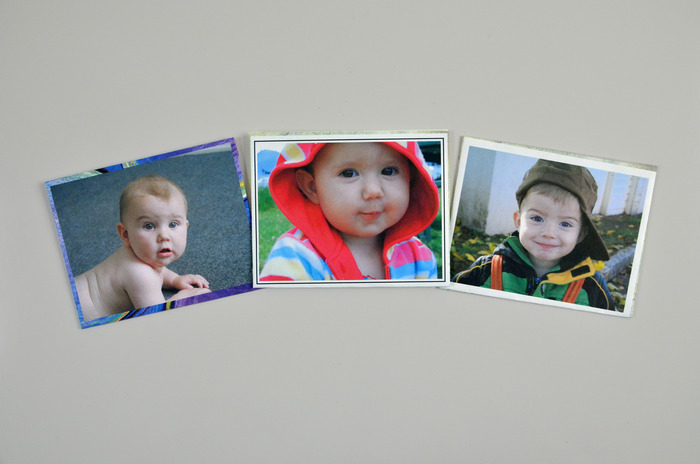 Envelopes made using your own photographs