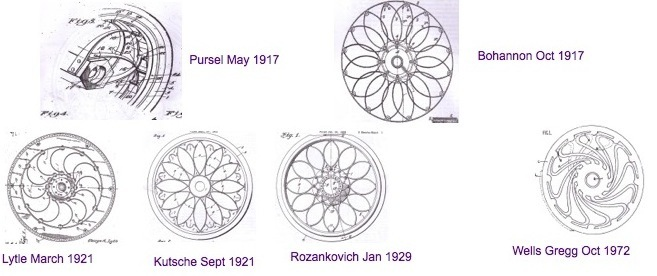 Old wheel patents . . . not all patented inventions actually work!