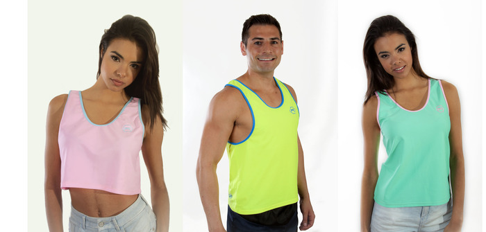 From Left to Right: Pastel Pink w/ Baby Blue Trim; Highlighter w/ Neon Blue Trim; Mint w/ Pastel Pink Trim