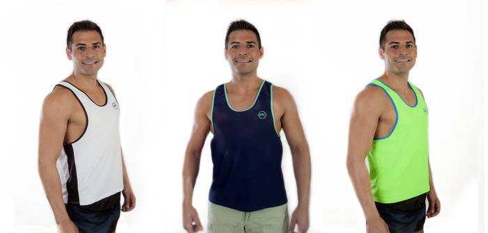 From Left to Right: White w/ Black Trim & Panels; Navy w/ Mint Trim; Neon Green w/ Neon Blue
