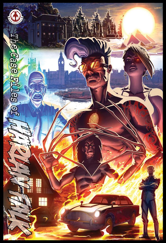 Fire and Brimstone Cover: Alex Johns
