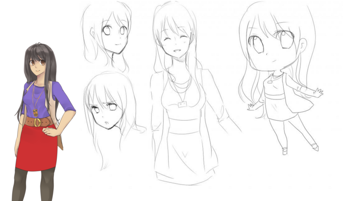 Sketchs of Yuko - 100puro
