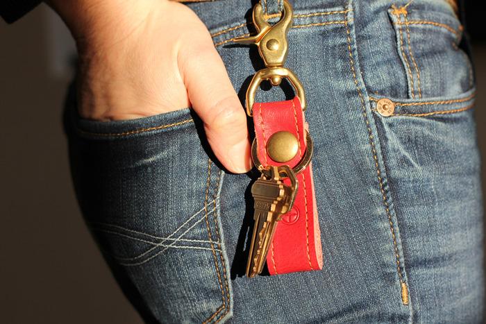 Apple Lanyard Key Chain