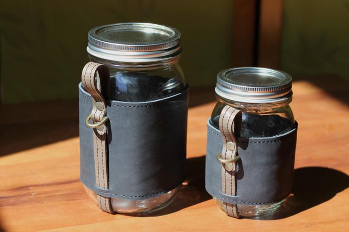 Quart and Pint Chug-A-Lug.  Color: Coal