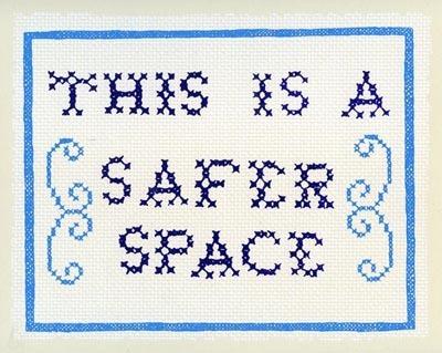 REWARD! Safer Space by Molly Fair