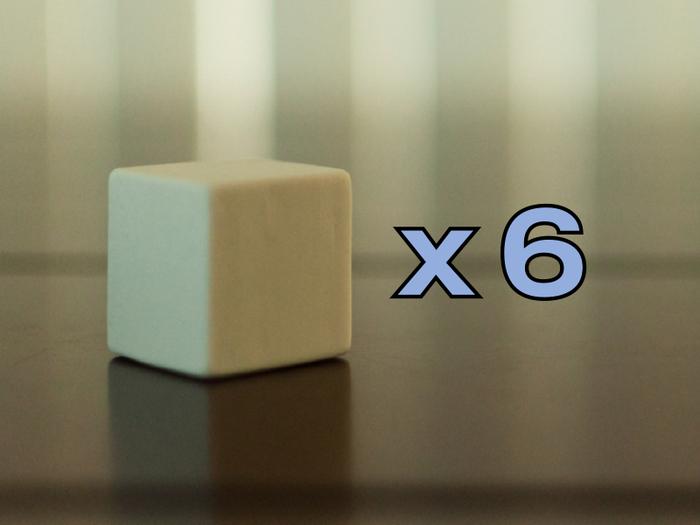 """Large Cubes - 1 1/16"""" x 1 1/16"""" x 1 1/16"""""""