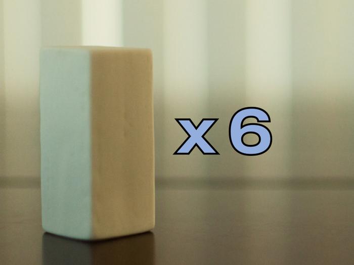 """Monoliths - 7/8"""" x 7/8"""" x 2"""""""