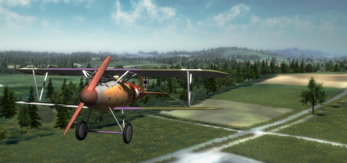 Dogfight Elite: Running some tests with the terrain engine.