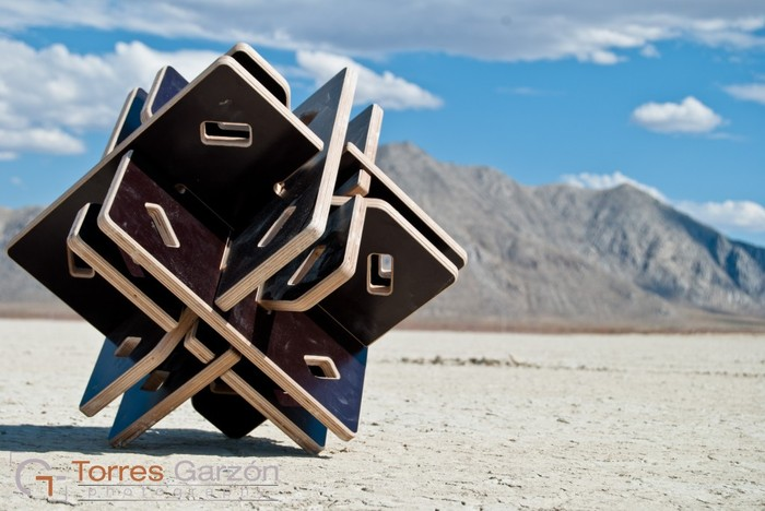 "Temple node - 15""x15"""