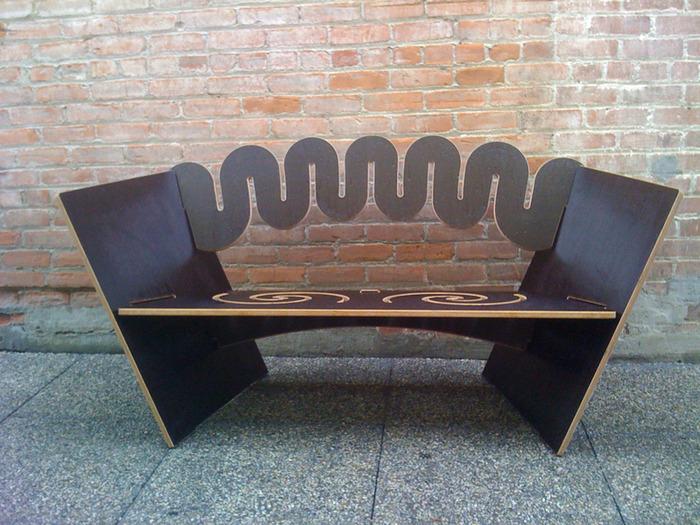 Camp bench