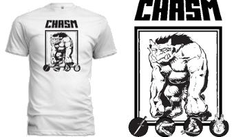 American Apparel Chasm T-Shirt (S-2XL Unisex and Ladies')
