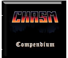 "10x8"" Hardback copy of Chasm Compendium"