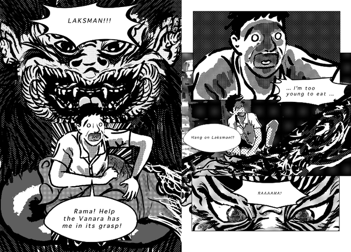 Page Sample_2 from Ramayana:The Thread of Luminance