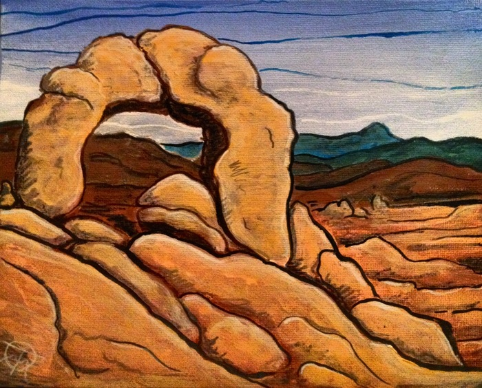 example: Acrylic Painting