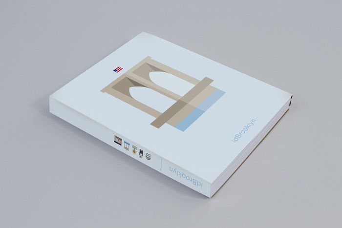Design Mockup of final idBrooklyn book