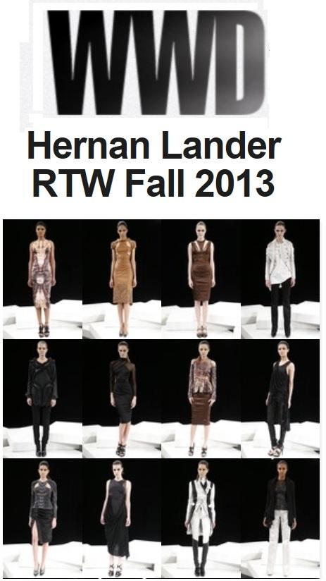 Link: > Hernan at Women's Wear Daily <
