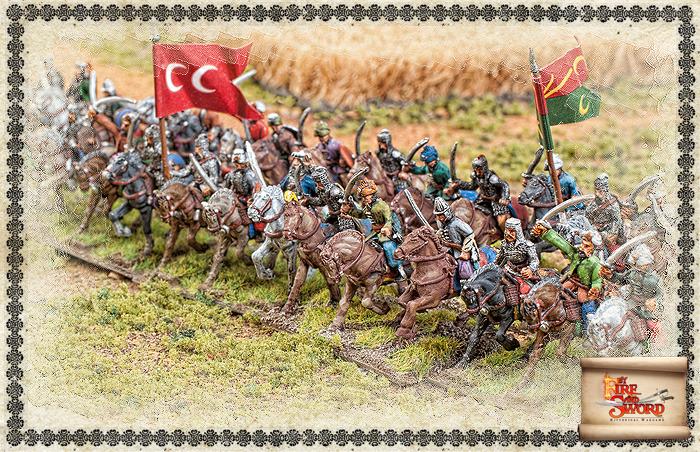 Charge of Ottoman sipahi.