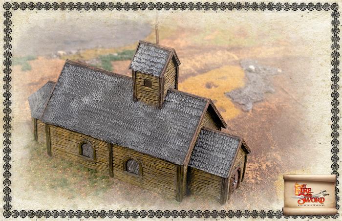 Wooden church.