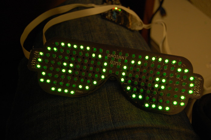 The name was changed from Radiant Rims to Rave Shades