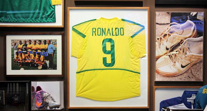 Museum of soccer in Sao Paulo, Brazil