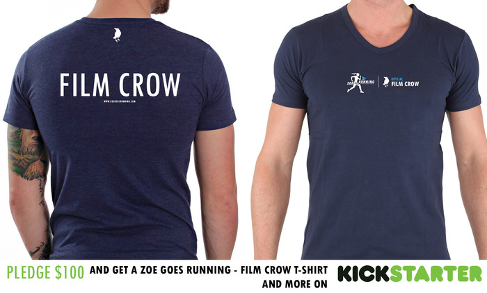 Official FILM CROW T-Shirt if you pledge $100 or more