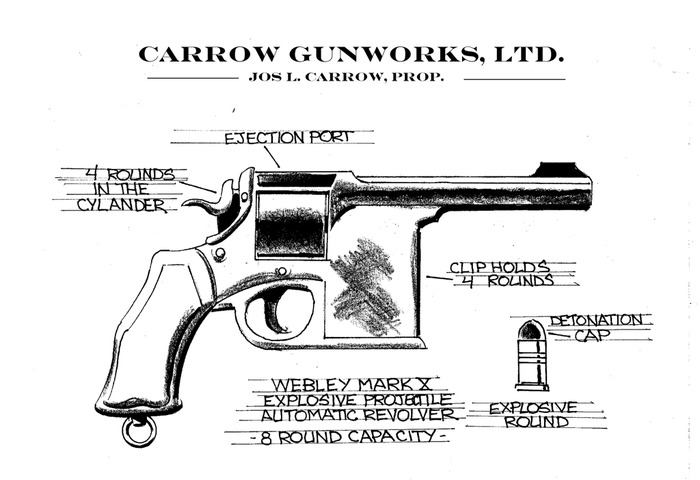 A uniquely designed weapon...