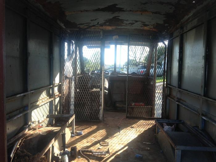 Actual interior photo.