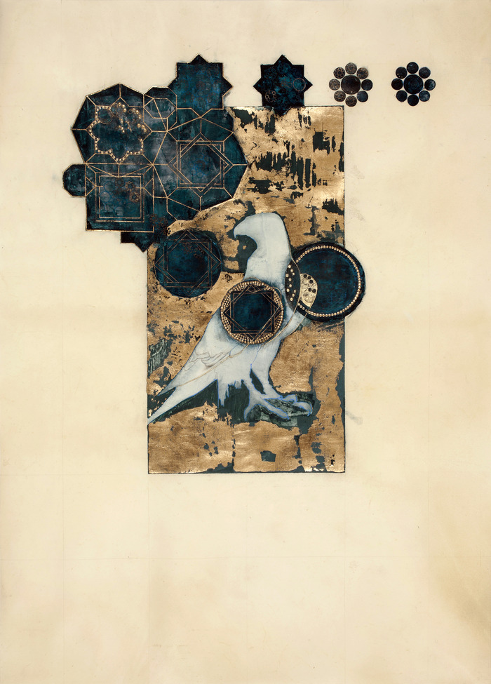 """PRINT - Judith Bejeweled (The Victory Page) from """"The Book of Judith,""""  15"""" x11"""""""