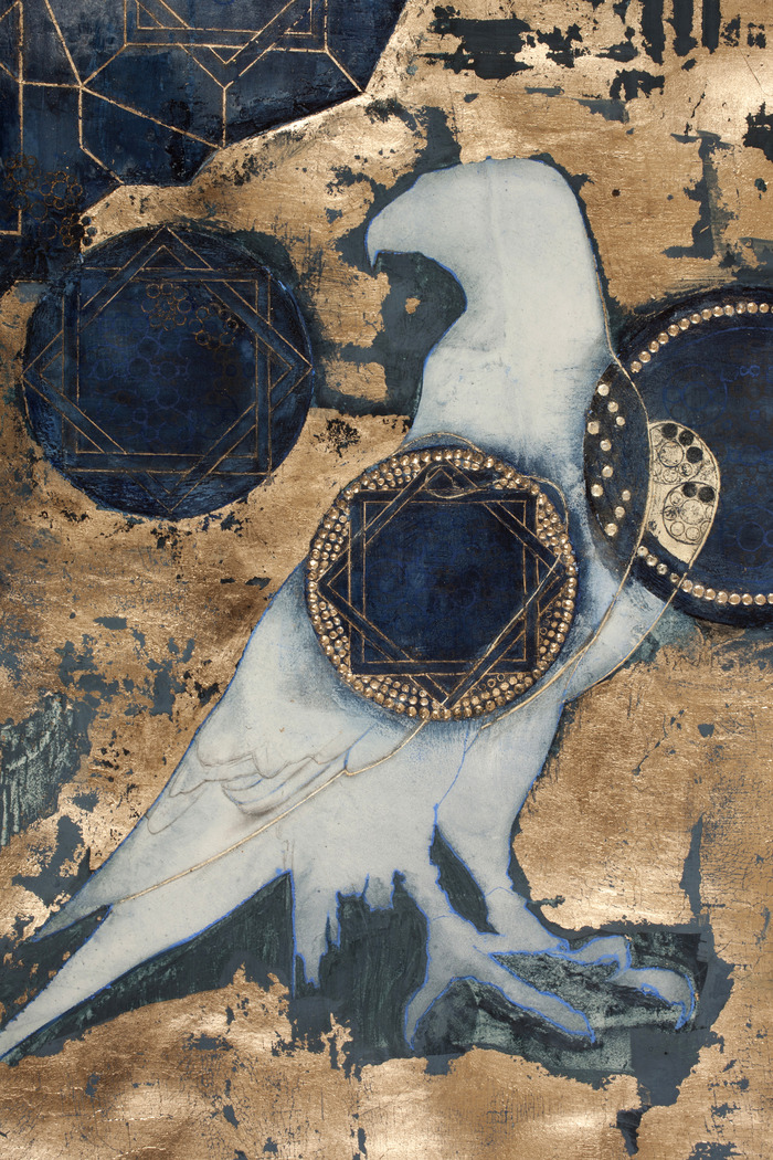 """POST CARD - Judith Bejeweled (The Victory Page, detail) 5.47"""" x 4.21"""""""