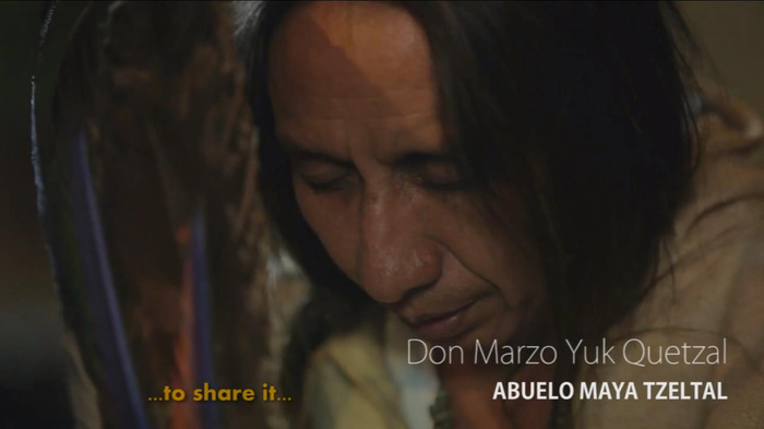Don Marzo Yuk Quetzal. Mayan Elder.