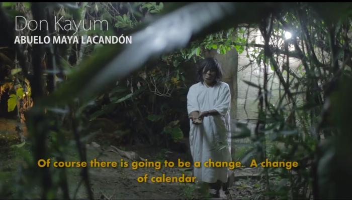 Don Kayum, Abuelo Maya Lacandón.