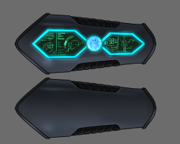 Latest draft of our MORPHER, which as a donation reward will go around your wrist, designed by Jason Short