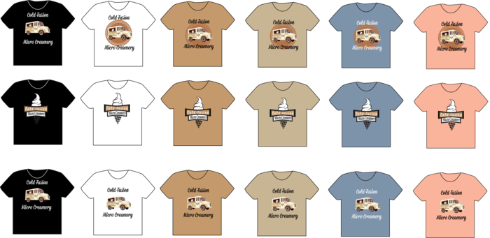 T-Shirts Custom Made For Our Backers!