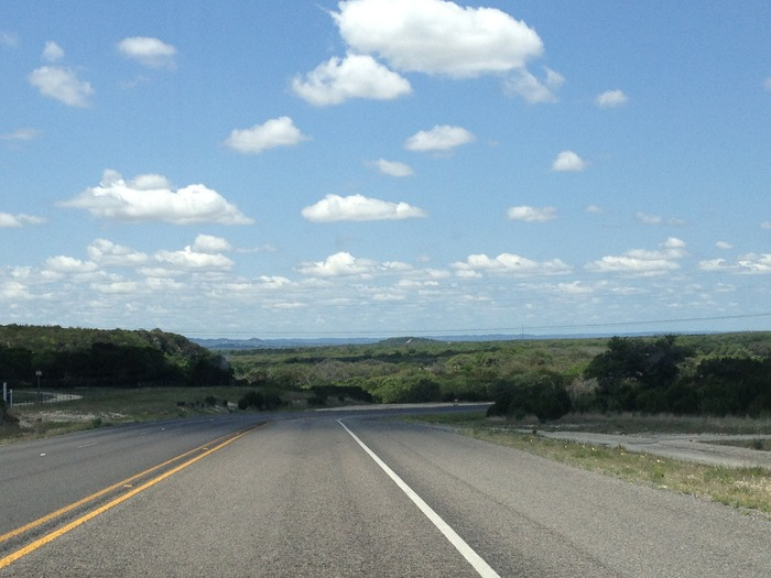 The road ahead (through the Texas Hill Country)!