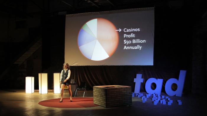 Casino profit dataviz, with Candace Long