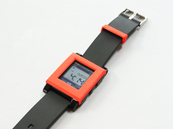 Red Watch Band Loop