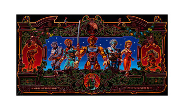 """Soldiers of Thundera (Thundercats)"" 24""x36"" limited edition giclée print"
