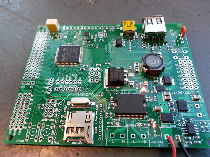 First Prototype - Partially Assembled