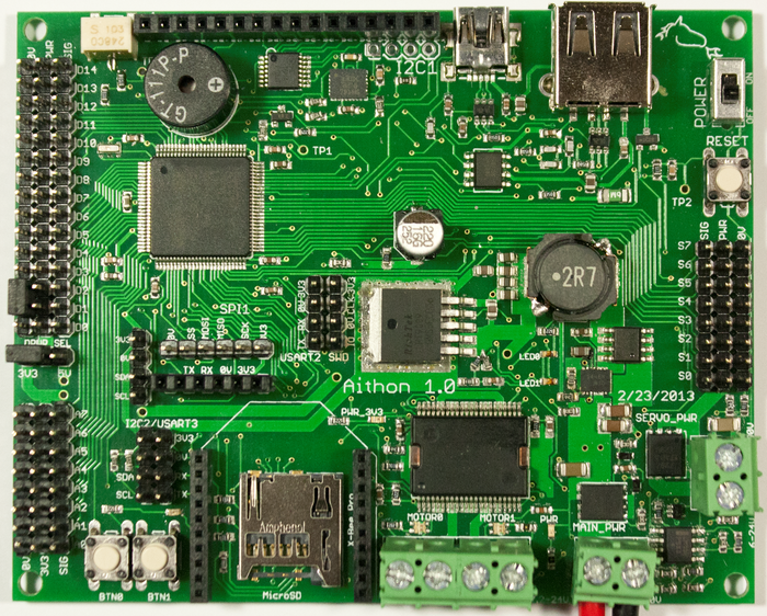 Aithon board without screen