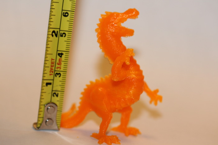 Orange Dragon - PLA - .2mm layers