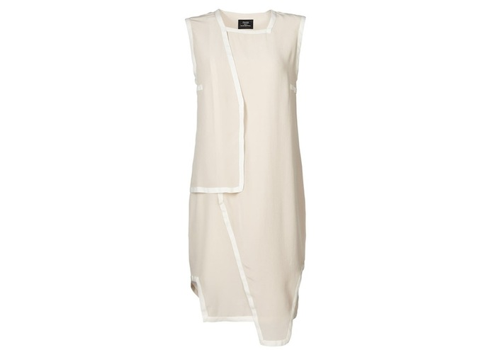 Pledge $229 and select the SILK DRESS (BEIGE) PLAN 1 to get this piece - retail price $399
