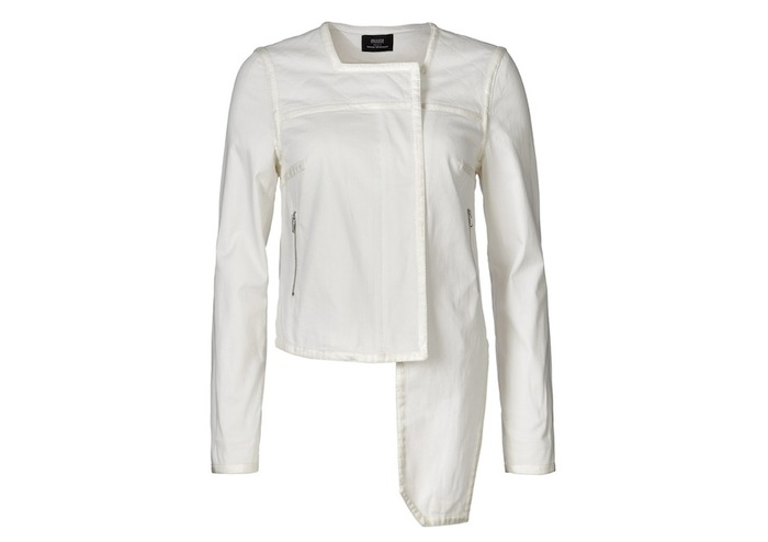 Pledge $174 and select the JEANS JACKET (WHITE) PLAN 1 to get this piece - retail price $339