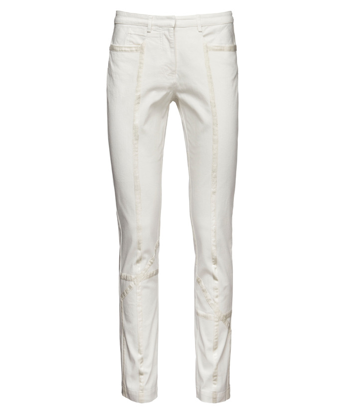 Pledge $149 and select the PAIR of JEANS (WHITE) PLAN 1 to get this piece (which comes in stretch fit!) - $229