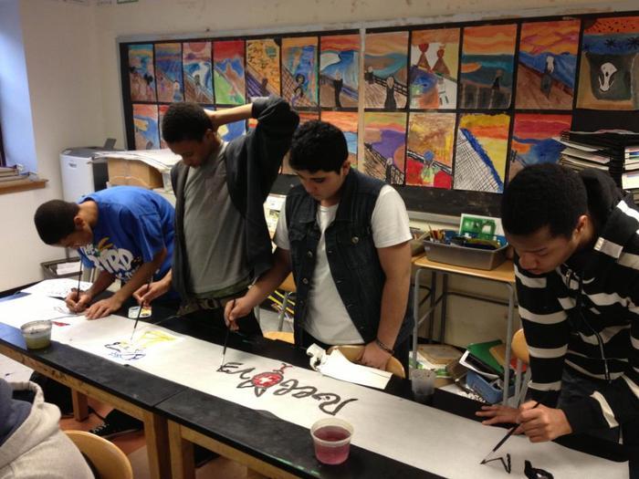 Artist-In-Schools Program